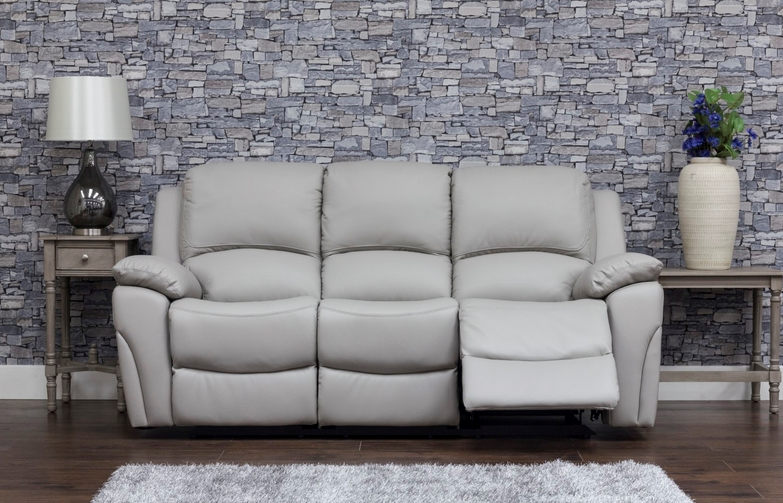 Serena Recliner - 3 seater, Grey